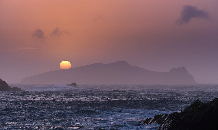 Sleeping Giant Sunset - Print
