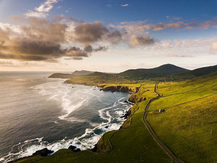 View of Dunquin  - Co.Kerry  - Print