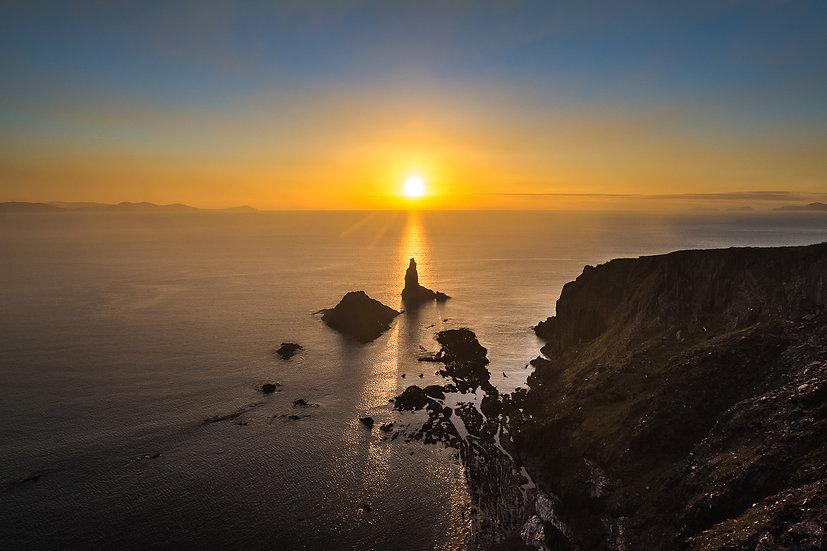 An Searrach Sunset - Print