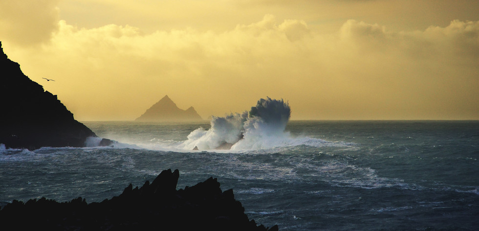Last Light.. Clogher, Co.Kerry