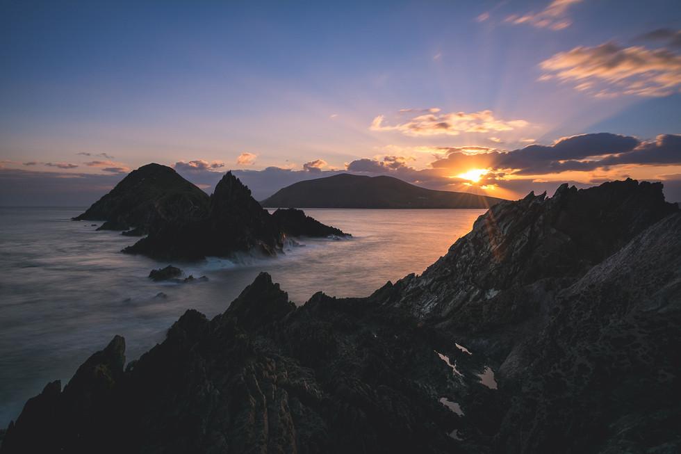 Dunmore Head Sunset