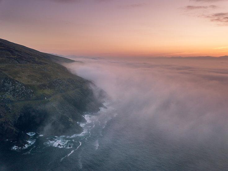 Slea Head Sea Fog - Print