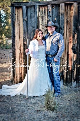 Green Acres....Tonya & William at their ranch