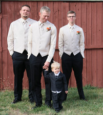 Will with Groomsmen
