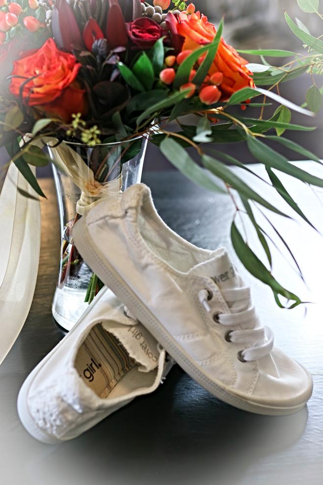 Comfy bridal shoes
