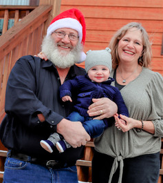 Papa and Nana with grandson