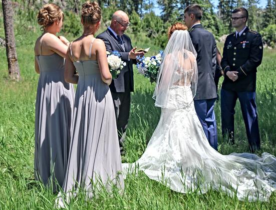 Sylvan Lake Ceremony