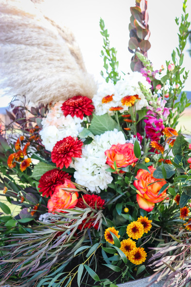 Flowers for Griggs-Doctor Wedding
