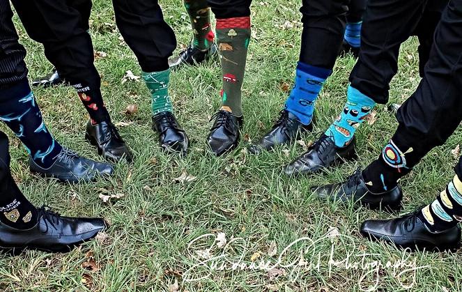 All the whacky socks
