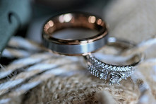 Katie and Micah rings