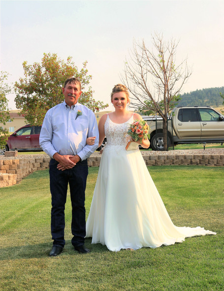 Katie and her dad