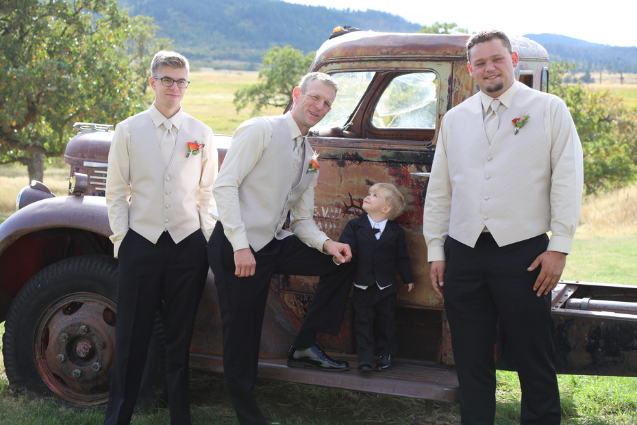 Will and the Groomsmen