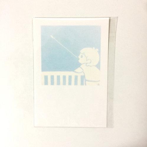 Ida Chiemi - Blue Postcard