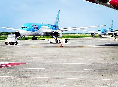 TUIfly_#puntacanaairport #puntacana #tui