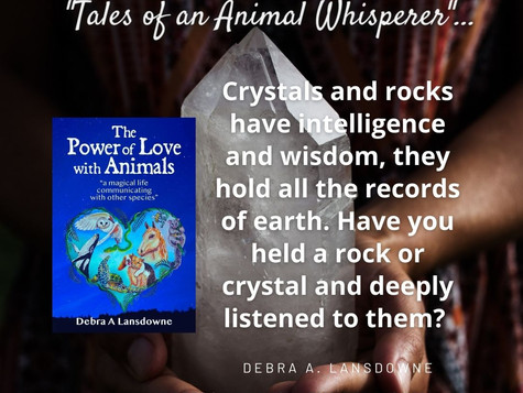 Are You Aware Crystals and Rocks have intelligence?
