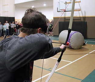 Archery Tag at Hidden Acres in Iowa
