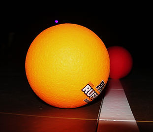 Blacklight Dodgeball at Hidden Acres