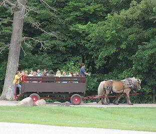Wagon Rides at Hidden Acres