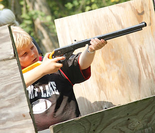 BB Guns and Archery at Hidden Acres