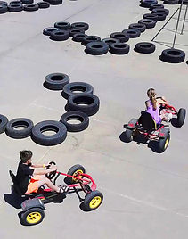 Pedal Carts at Hidden Acres in Iowa