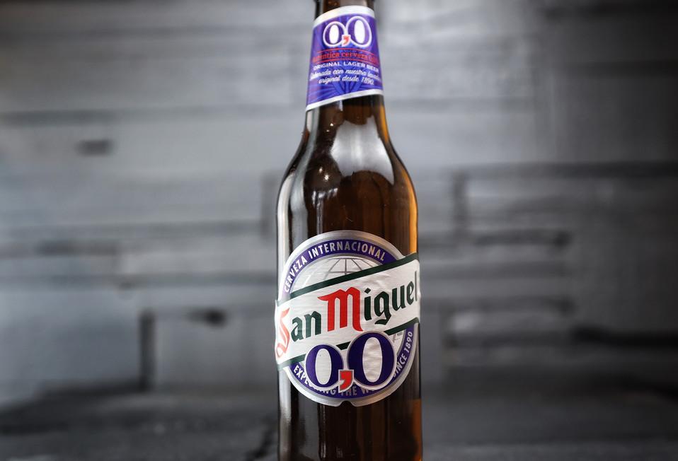 SAN MIGUEL 0% BEER