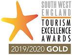 South West Tourism England logo landscap