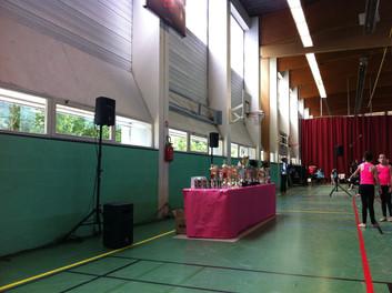 Sonorisation événement sportif