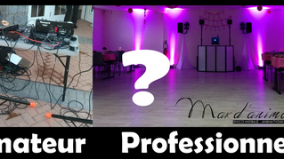 Premier article ! Pourquoi choisir un Dj Professionnel pour vos évènements?
