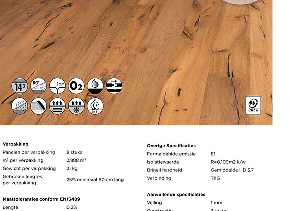 Solidfloor Originals Forest Gerookt Naturel Olie