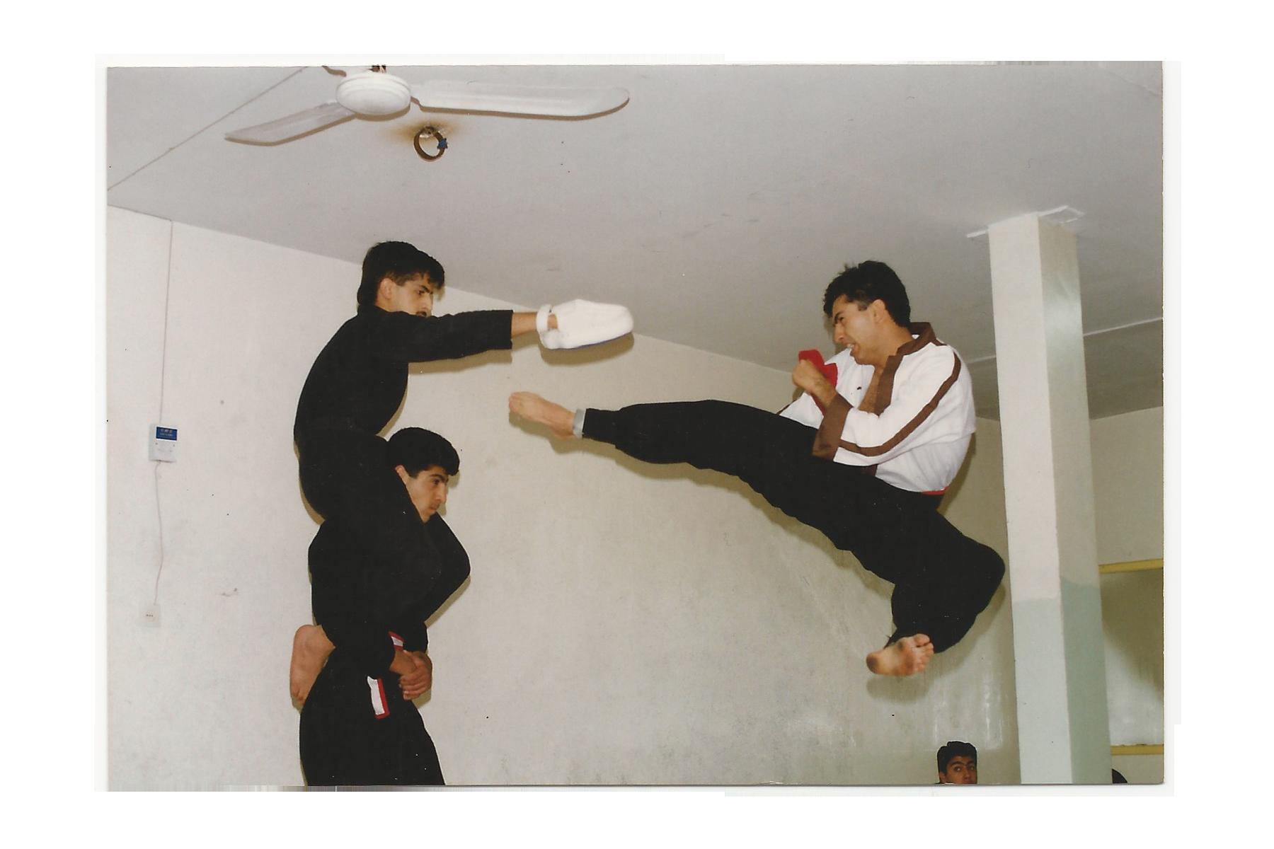 Jump Round Kick