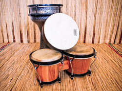 A selection of drums