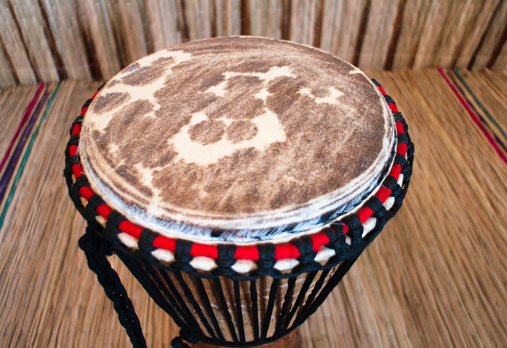 Djembe Drum close up