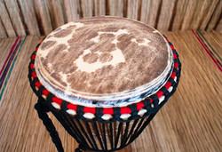 Djembe Drum close up