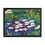 """Thumbnail: """"Water Lily"""" 00.3 Framed Poster"""