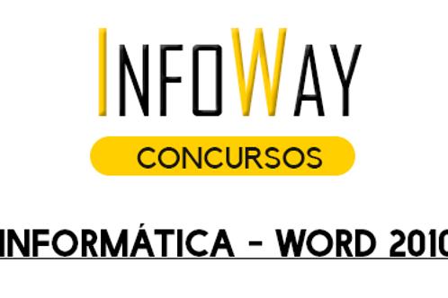 Informática - Word 2010 - SOLDADO PM