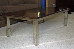 Mirror Stainless Steel Coffee Table