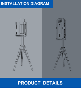 tripod for product