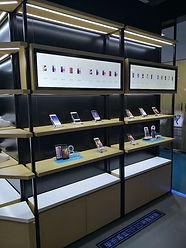Interactive shelves