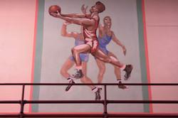 mural basketball