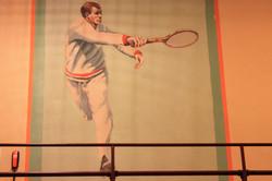 mural tennis