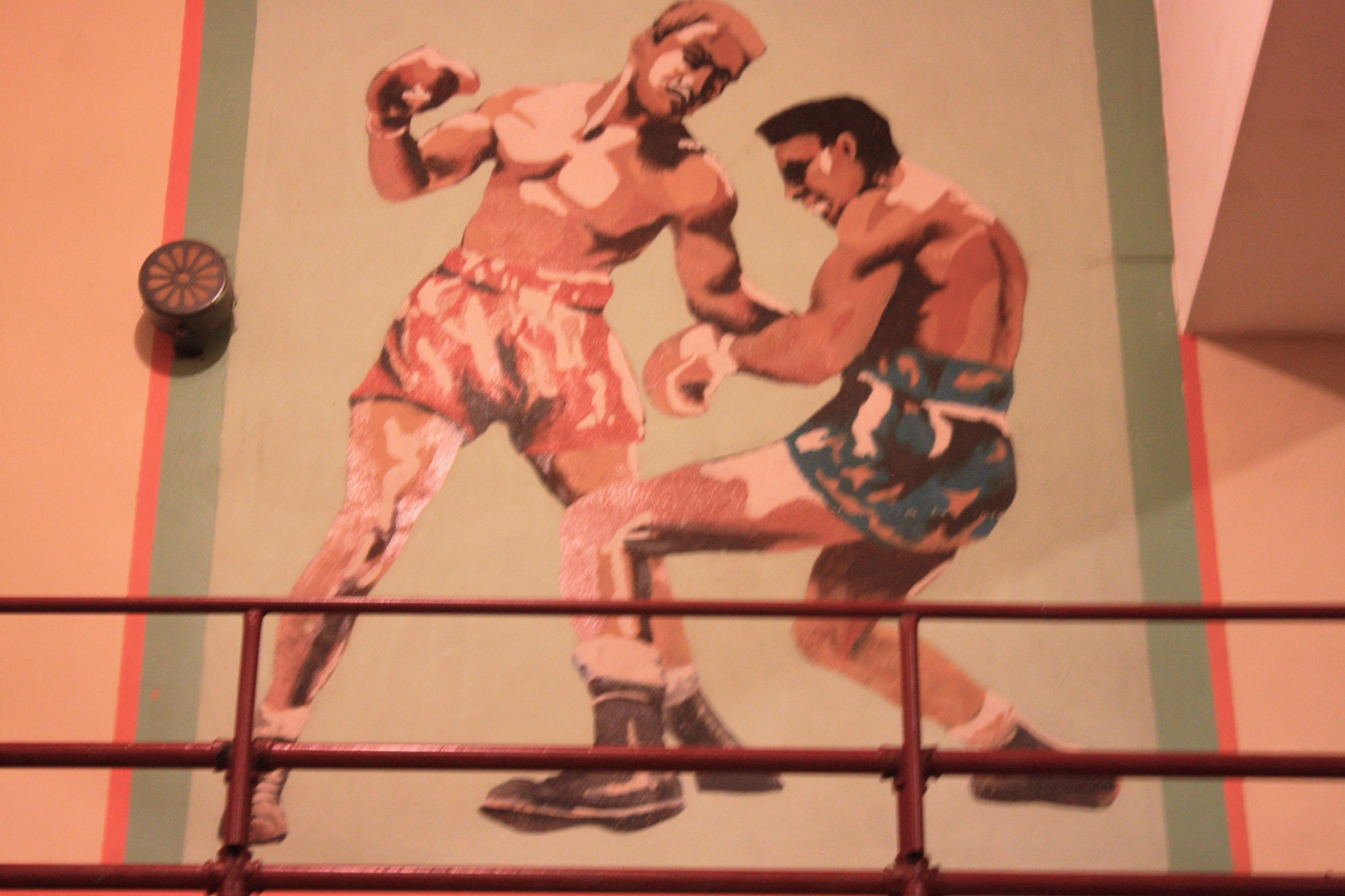 mural boxing