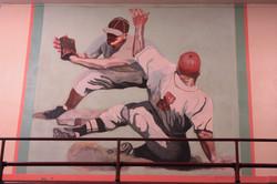 mural baseball