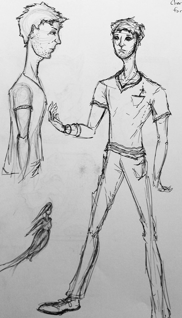 Zach Hunt's designs for Daryl