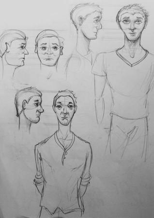 Zach Hunt's designs for Daryl