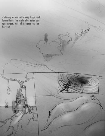 Zach Hunt's environment designs