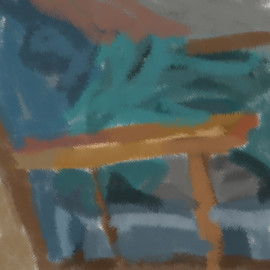 Fuzzy Rocking Chair