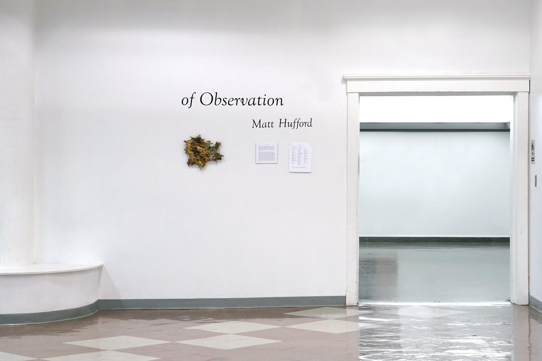 of Observation