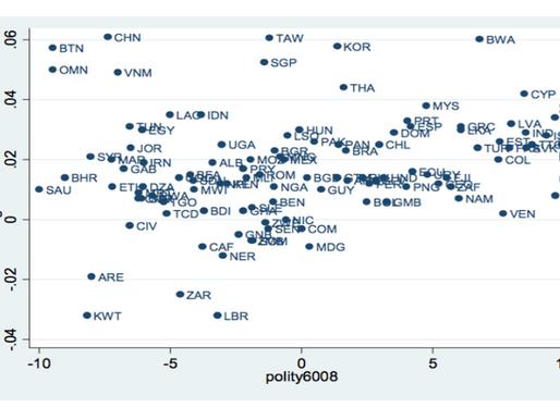 Is Democracy Intrinsic to Economic Development?