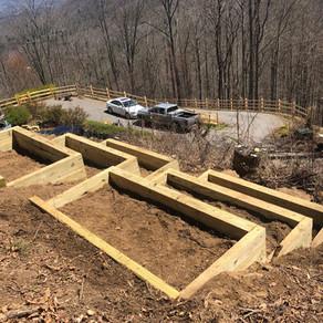 Garden Boxes in the Mountains