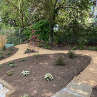 WAVL Backyard Garden and Pathway - Cling
